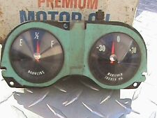 Vintage Estate Lot Of 60's Chevy Corvair Spyder Monza Turbo Factory Gauges
