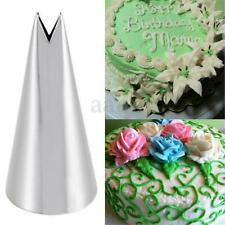 Leaf Shape Icing Piping Tips Nozzle Cake Cupcake Decorating Pastry Baking Tools