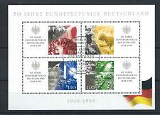 Allemagne RFA Bloc N°48 Obl (FU)1er jour 21/05/1999 Berlin - République Fédérale