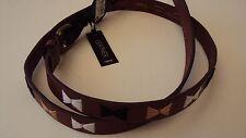 NEXT Women's Genuine Brown Leather Slim Belt - UK Size - XS / S / L - RRP £16