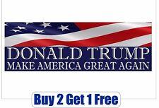 DONALD TRUMP 2020 - Bumper Sticker - Make America Great Again - GoGostickers