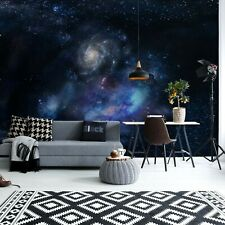 366x254cm Papel Pintado Mural Para Niños Dormitorio Decoración de Pared Galaxy