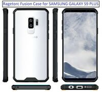 Samsung Galaxy S9 PLUS Fusion Bumper Gel Case with Clear Back - 360 Protection