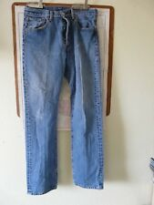 Levi's 501 Button down Red Tab Blue Jeans Size 32 x 33 (Actual 32x32) (#62)