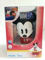 Phillips Disney Mickey  Mouse SoftPals Rechargeable Night Light w/ Charger .