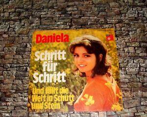 """DANIELA ★ SCHRITT FÜR SCHRITT ★ BASF 7"""" ★ 1972 TOP"""
