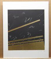 "Shinichi Nakazawa Contemporary Japanese Abstract Etching ""Cassiopeia"" Listed"