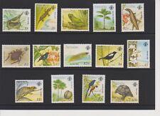 Seychelles Flora & Fauna Set MNH Scott 739-752