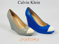 CALVIN KLEIN LUXURY WEDGE SHOES