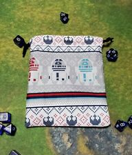 Star Wars R2D2 Christmas Dice Bag, Card Bag, Makeup Bag, Small Gift Bag
