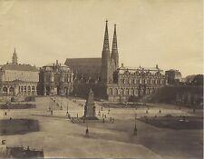 Dresde Allemagne Deutschland Vintage albumine ca 1880