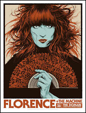 FLORENCE AND THE MACHINE CONCERT POSTER LIMITED EDITION SCREEN PRINT KEN TAYLOR