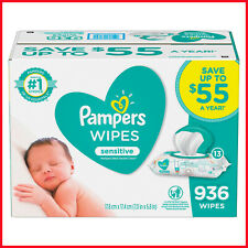Pampers Sensitive Baby Wipes (936 ct.) ,Perfume-free