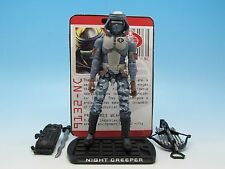 "GI Joe Night Creeper (v12) ROC Rise of Cobra (Walmart Exclusive) 3.75"" Figure"