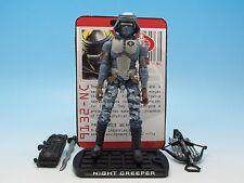 "GI Joe Night Creeper (v12) ROC Rise of Cobra (Walmart Exclusive) 3.75"" Figure"