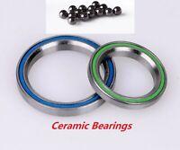 """41mm/52mm Headset Ceramic Bearings for 1 1/8-1 1/2"""" Tapered Headtube"""