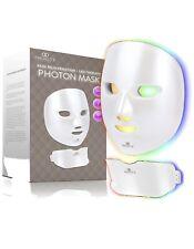 7 Colors Led Light Photon Face Neck Mask Rejuvenation Skin Wrinkles Therapy Us