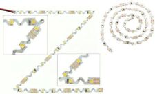 STRISCIA LED IP66 CURVABILE RIPIEGABILE 12V BIANCO FREDDO PER INSEGNE LUMINOSE