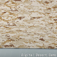 "Digital Desert Camouflage Cotton Blend Military 60""W Fabric Cloth for uniform"