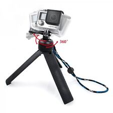 360 Degree Stand Tripod Mount for GoPro HERO 4 3+ 3 2 Stand up Accessories New