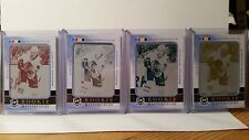 2011-12 The Cup Brandon Saad RC Printing Plate 1/1 Rainbow 4 Card Lot!