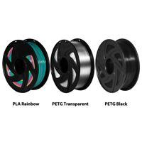 Xvico 3D Printer Filament 1.75mm PETG PLA 1kg 2.2lb 3D Printer Consumables