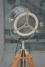 MARINE FLOOR SEARCH LIGHT WITH TRIPOD STAND HOME DECOR