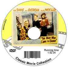 The Man Who Came to Dinner, Bette Davis, Ann Sheridan DVD (4 for 3, see listing)