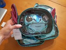 Disney Loungefly Lilo & Stitch Figural 2 piece Cosmetic Makeup Bag