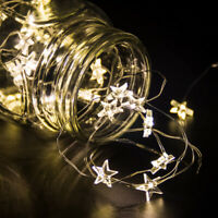 LED Star Light Globe Fairy Various String Happy Birthday Wedding Party Decor