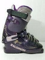 Salomon Optima EXP 8.1 Purple Ski Boots Size 305/23.5 277mm