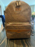 Patricia Nash Signature Map Genoa  Backpack NL40218 Brand New With Tags School