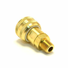 "Foster Fm3103 - 1/4"" Male Npt x 1/4"" Quick Coupler Air Hose Fittings Brass M Mil"