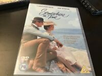 SOMEWHERE IN TIME - REGION 2 DVD MOVIE - CHRISTOPHER REEVE / JANE SEYMOUR +