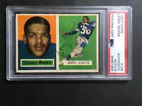 1957 Topps Lenny Moore #128 Signed Autograph AUTO 8 PSA/DNA Baltimore Colts HOF