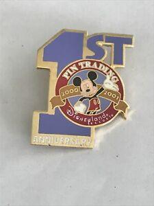 Disney Pins Disneyland First Anniversary Pin Trading Pin
