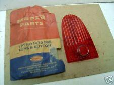 Mopar NOS Tail Lamp Lens 52 DeSoto