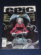 MARVEL - EPIC ILLUSTRATED #17 - April 1983