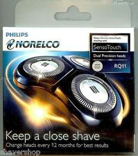NEW PHILIPS NORELCO RQ11 RQ 11 SENSOTOUCH 2D 1180 1160 1150 Shaver/Razor HEADS