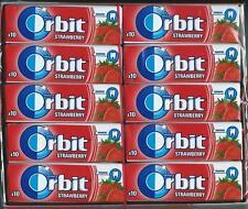 30x Wrigleys Orbit Strawberry Chewing Gum Full Box 300 pcs FREE SHIPPING