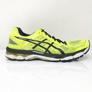 Asics Mens Gel Kayano 22 T547N Volt Running Shoes Lace Up Low Top Size 11.5