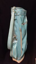 Womens Used Aqua Carry or Cart Golf Bag