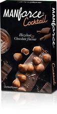 2 X 10 Manforce Cocktail Chocolate & Hazelnut Flavoured CONDOM FS