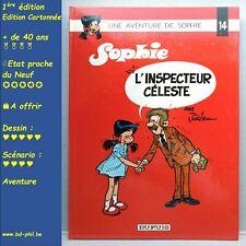 Sophie, 14, l'inspecteur Céleste, Jidéhem, Dupuis, EO, 1979, EN, C