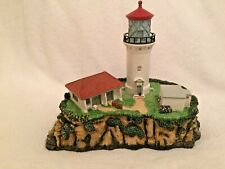 Signed Harbour Lights Kilauea Point, Hawaii Lighthouse Society Exclusive Coa Box