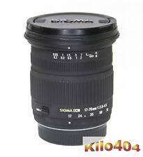 Sigma para Pentax 17-70mm 1:2,8-4,5 dc macro * embalaje original * k bayoneta * k-5 * k-01 * KP