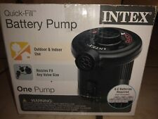 Intex Quick Fill Air Pump 06C AP638 Battery Operated (6 C batteries included) $$