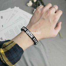 Bracelet - Pm Black&Gold Bangle Bracelet Enamel