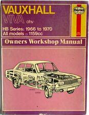 Haynes - Opel Viva (Soupapes en tête 1966 à 1970) - Tous Modèles Manuel Atelier