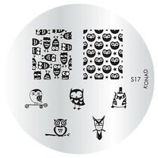 S17 Konad Design Image Plate for Nail Art Stamping transfer